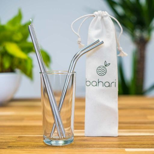 Steel Straws - Pack of 4 - Mixed