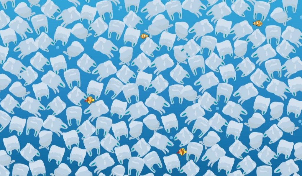 Can You Find the Hidden Jellyfish Amongst the Sea of Plastic Bags?